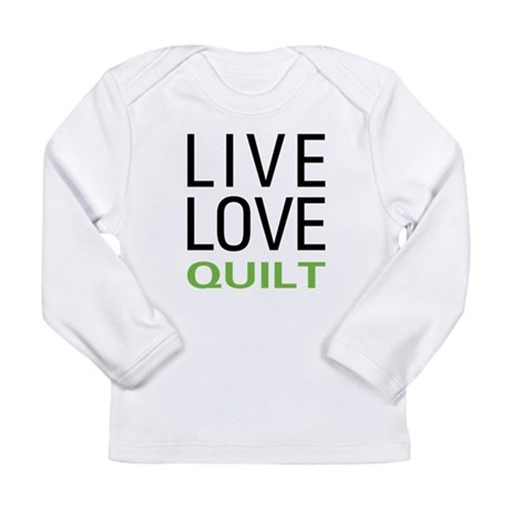 Live Love Quilt Long Sleeve Infant T-Shirt