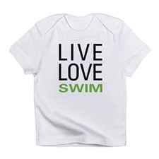 Live Love Swim Infant T-Shirt