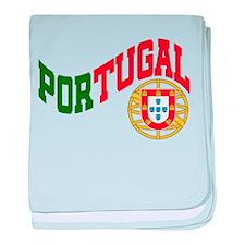 Portugal Wave baby blanket
