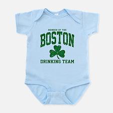 Boston Drinking Team Infant Bodysuit