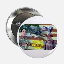 "Female Veteran Pride 2.25"" Button"