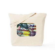 Female Veteran Pride Tote Bag