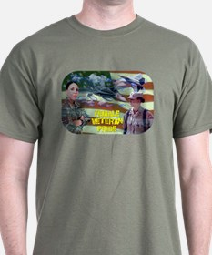 Female Veteran Pride T-Shirt