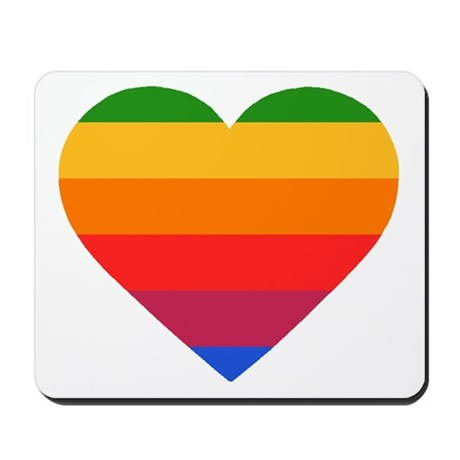 Apple Mac Heart Mousepad
