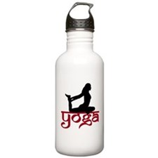 Yoga One-Legged King Pigeon P Water Bottle