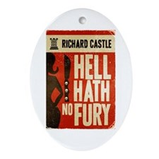Castle Hell Hath No Fury Ornament (Oval)