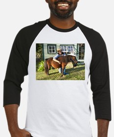 4-H Pigtail Cowgirl Baseball Jersey