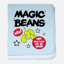 'Magic Beans' baby blanket