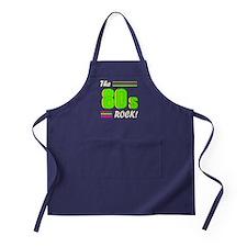 'The 80s Rock!' Apron (dark)