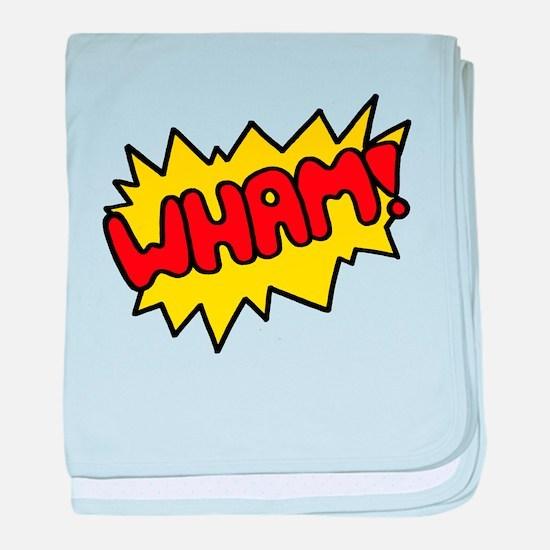 'Wham!' baby blanket