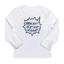 'Evil Laugh' Long Sleeve Infant T-Shirt