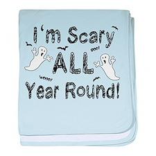 'I'm Scary' baby blanket
