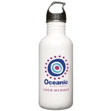 'Oceanic Airlines Crew' Stainless Water Bottle 1.0