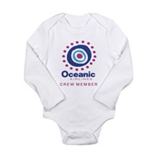 'Oceanic Airlines Crew' Long Sleeve Infant Bodysui