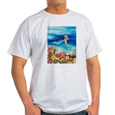 Mermaid and Dolphine meet T-Shirt