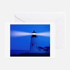 Pemiquid Lighthouse Greeting Card