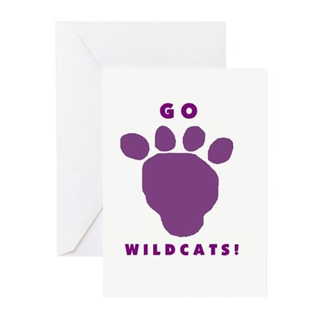 Go Wildcats ! Greeting Cards (Pk of 10)