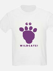 Go Wildcats ! Kids T-Shirt