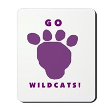 Go Wildcats ! Mousepad