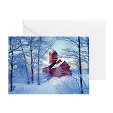 The Old Red Mill, Jericho, VT Greeting Card