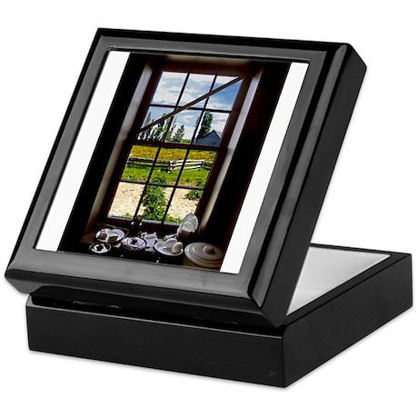 Garden Window Keepsake Box
