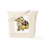 Jade Fennec Fox Tote Bag