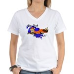 Official Logo Women's V-Neck T-Shirt
