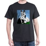 Marble Fox Dark T-Shirt