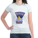 Happy-Go-Lucky Ducky Jr. Ringer T-Shirt