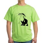 Black Fox Green T-Shirt