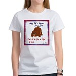 Bear Bullying Women's T-Shirt