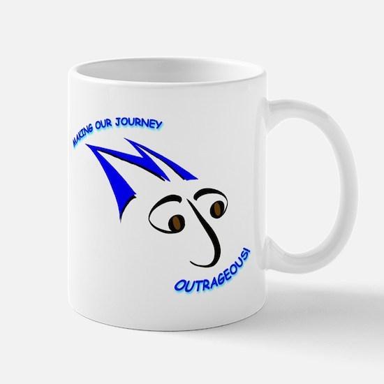 Blue Mojo Logo Mug