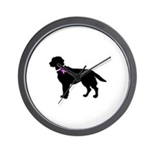 Labrador Retriever Breast Can Wall Clock
