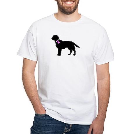 Labrador Retriever Breast Can White T-Shirt