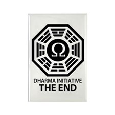 Dharma Omega Rectangle Magnet