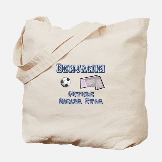 Benjamin - Future Soccer Star Tote Bag