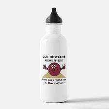 Old Bowlers Never Die Water Bottle