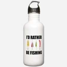 I'd Rather Be Fishing Water Bottle