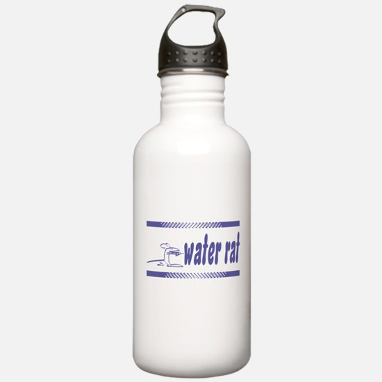 Water Rat Waterskiing Water Bottle