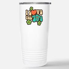 I Love The 70's Travel Mug