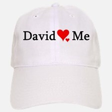 David Loves Me Baseball Baseball Cap