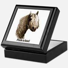 Peek a boo Pony Keepsake Box