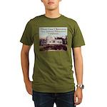 Mount Lowe Observatory Organic Men's T-Shirt (dark