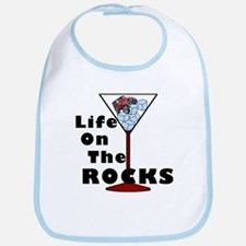 On Rocks Martini Bib