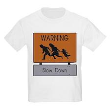 Warning! Kids T-Shirt