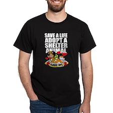 Save A Life Adopt T-Shirt