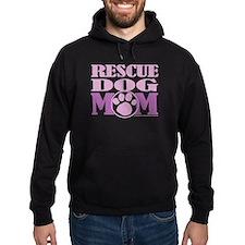 Rescue Dog Mom Hoody