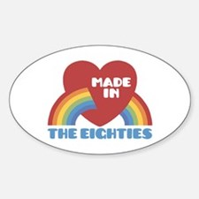 Made In The Eighties Decal