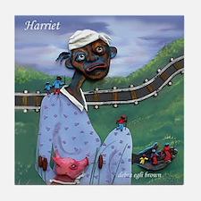 """Harriet"" Tile Coaster"