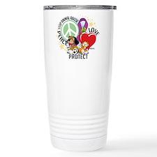 Stop Animal Abuse PLP Travel Mug